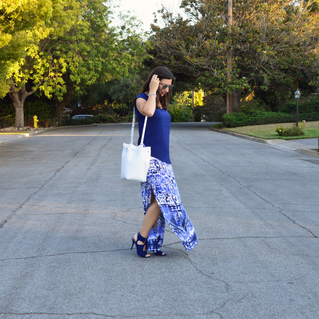 summer dressy outfit idea style blogger