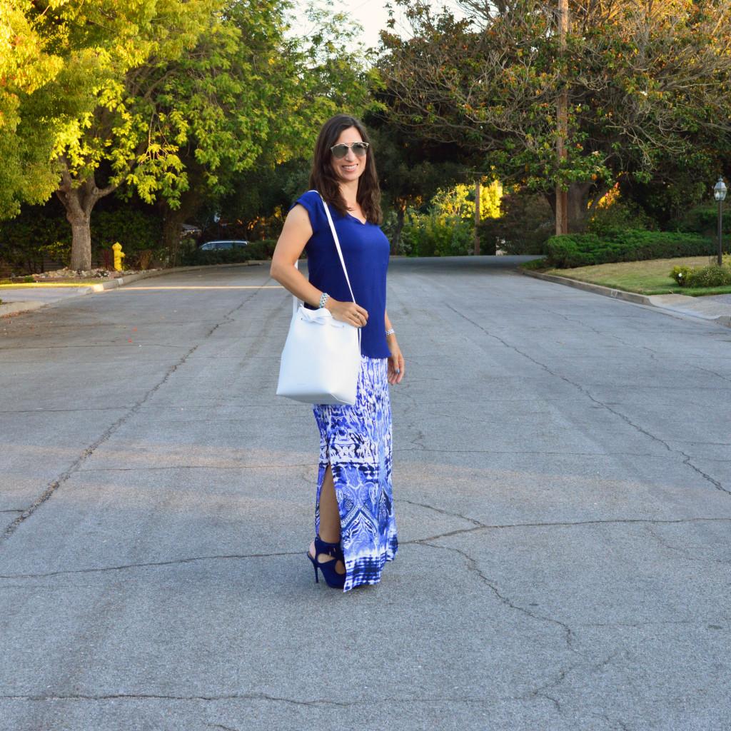summer skirt outfit idea