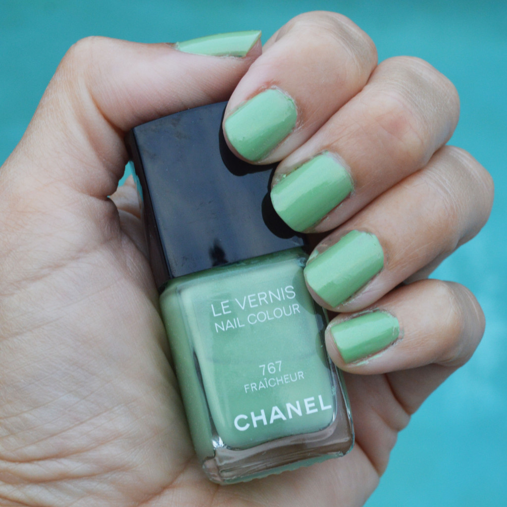 Chanel Fraicheur limited edition nail polish