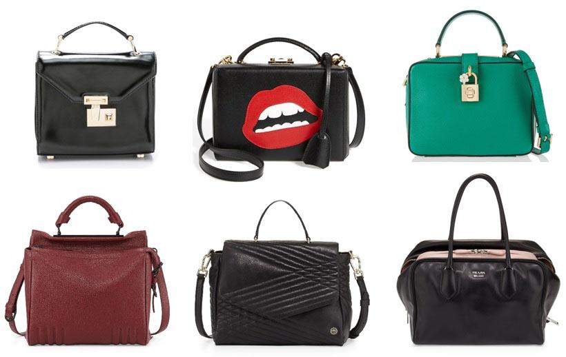 Boxy handbags for fall 2015