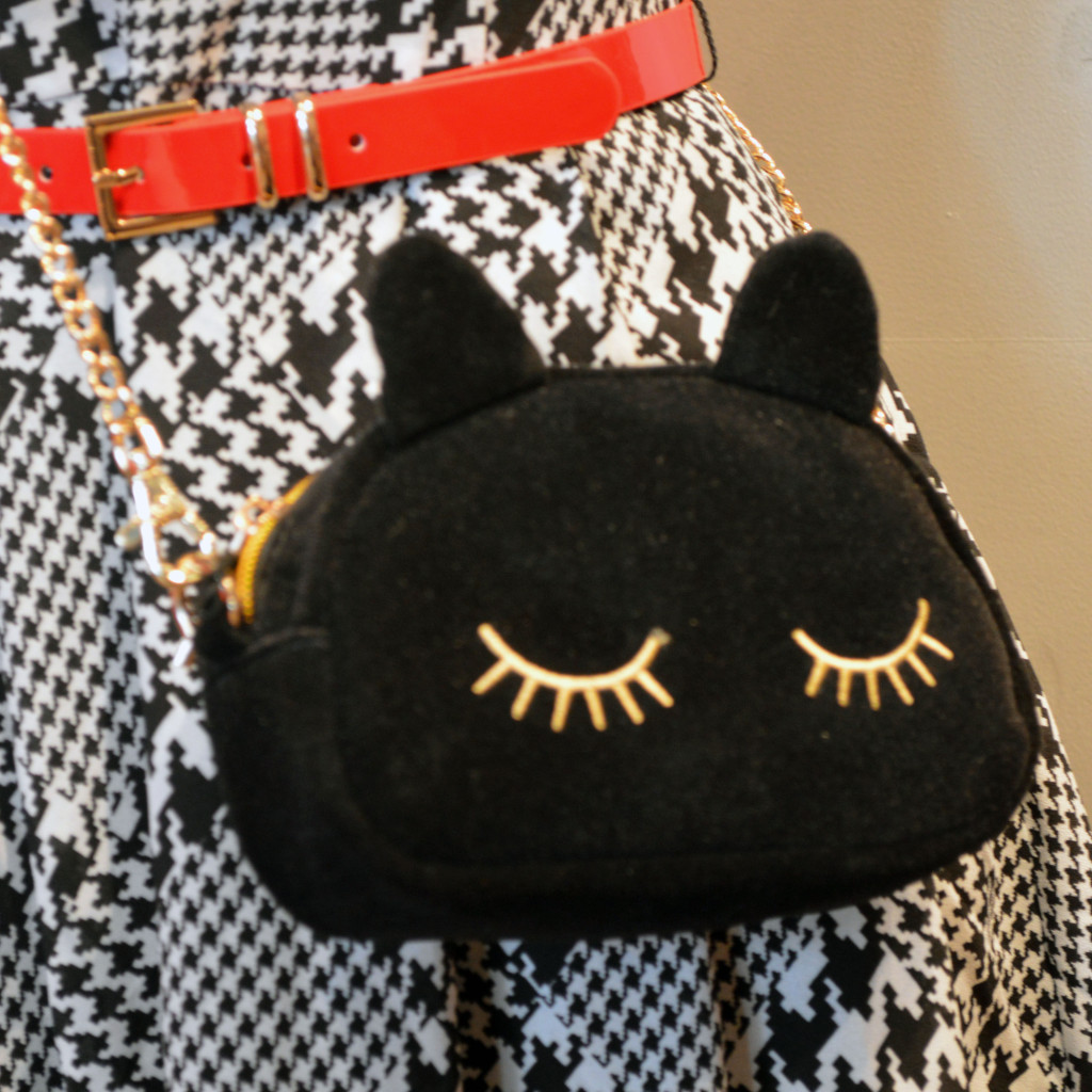 cat handbag modcloth