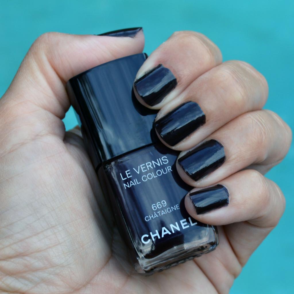 chanel chataigne nail polish fall 2015 review
