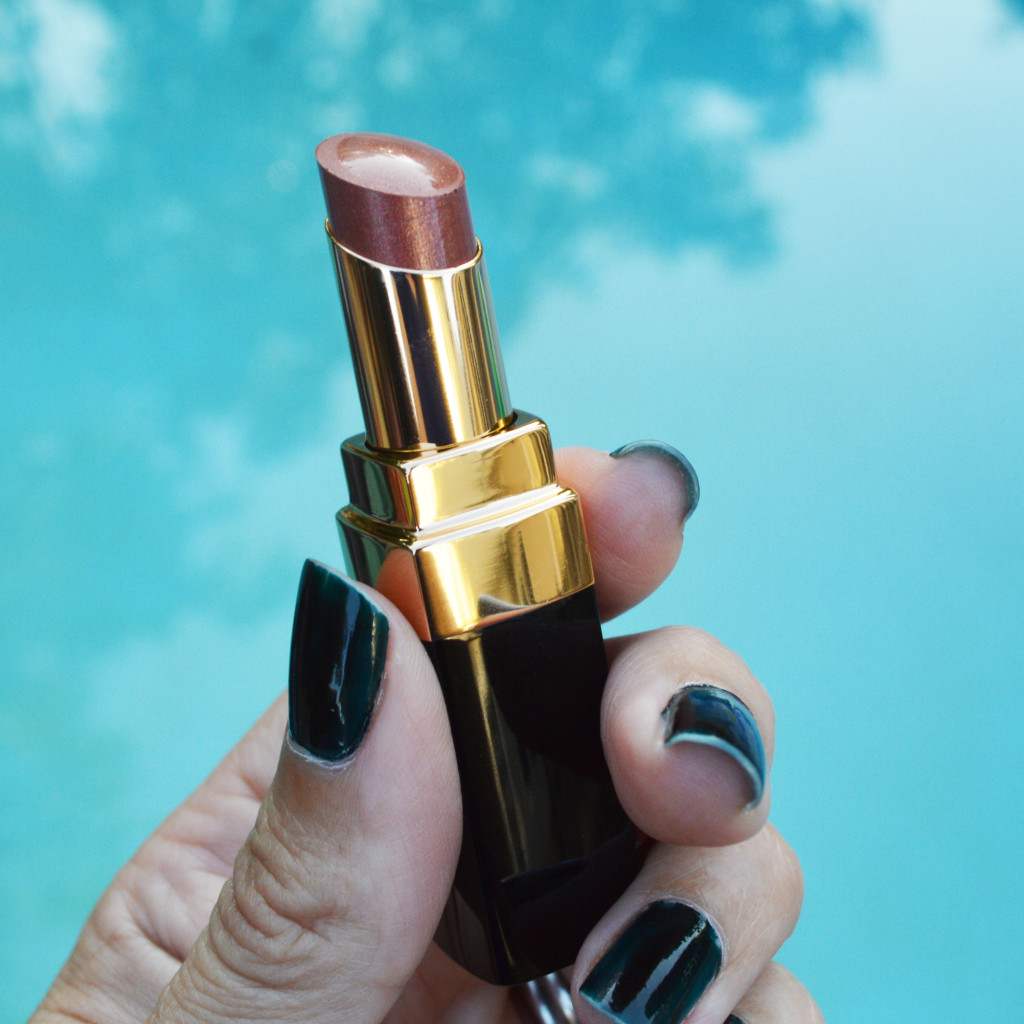 Chanel Melancolie sheer lipstick review