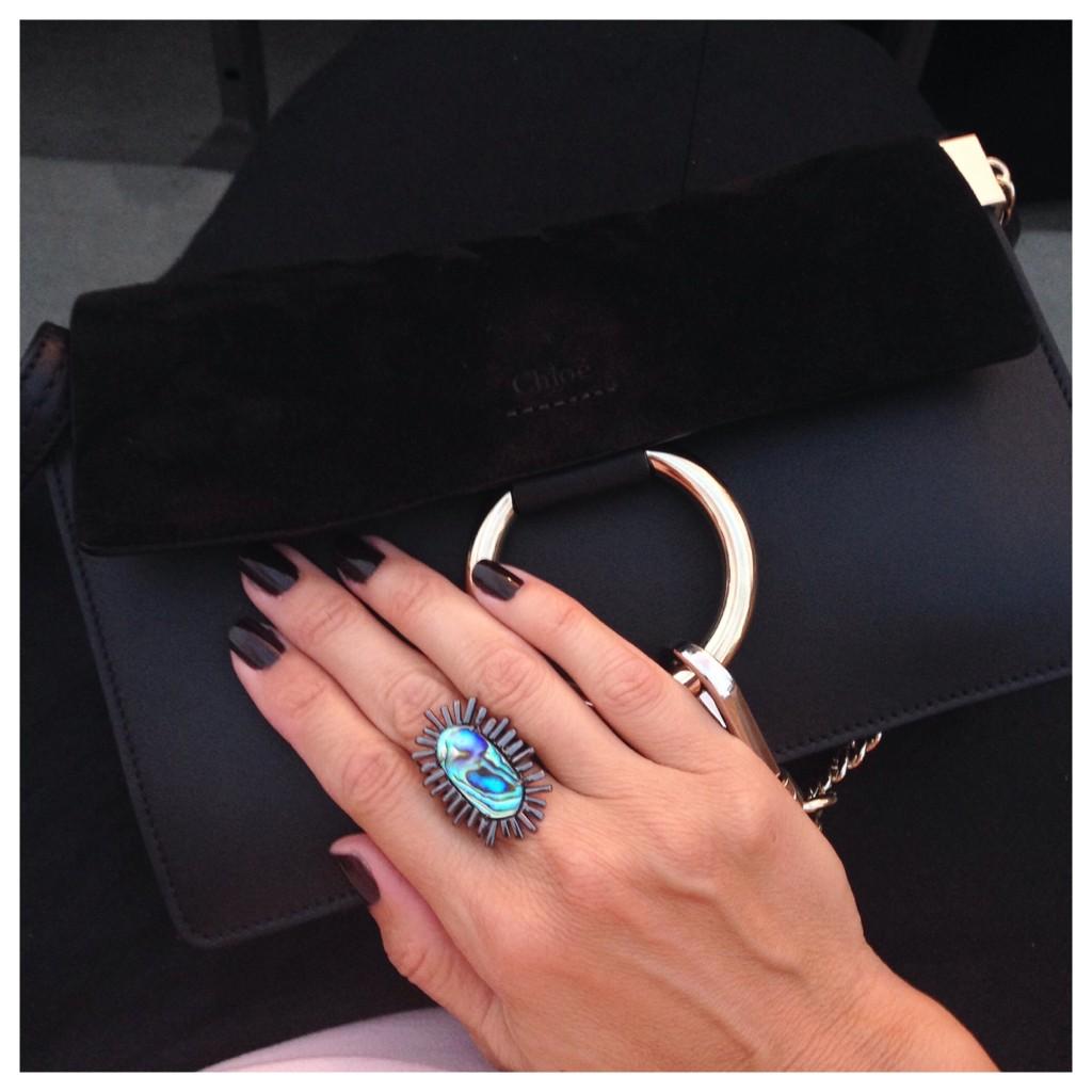 chloe faye handbag and kendra scott ring