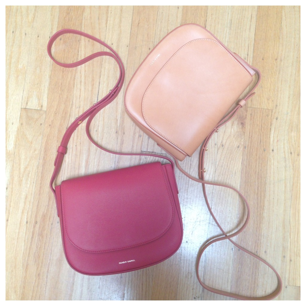 mansur gavriel shoulder bags cross body