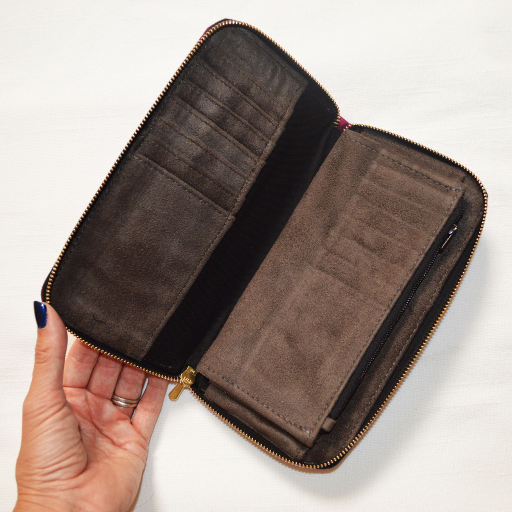 jill milan long wallet