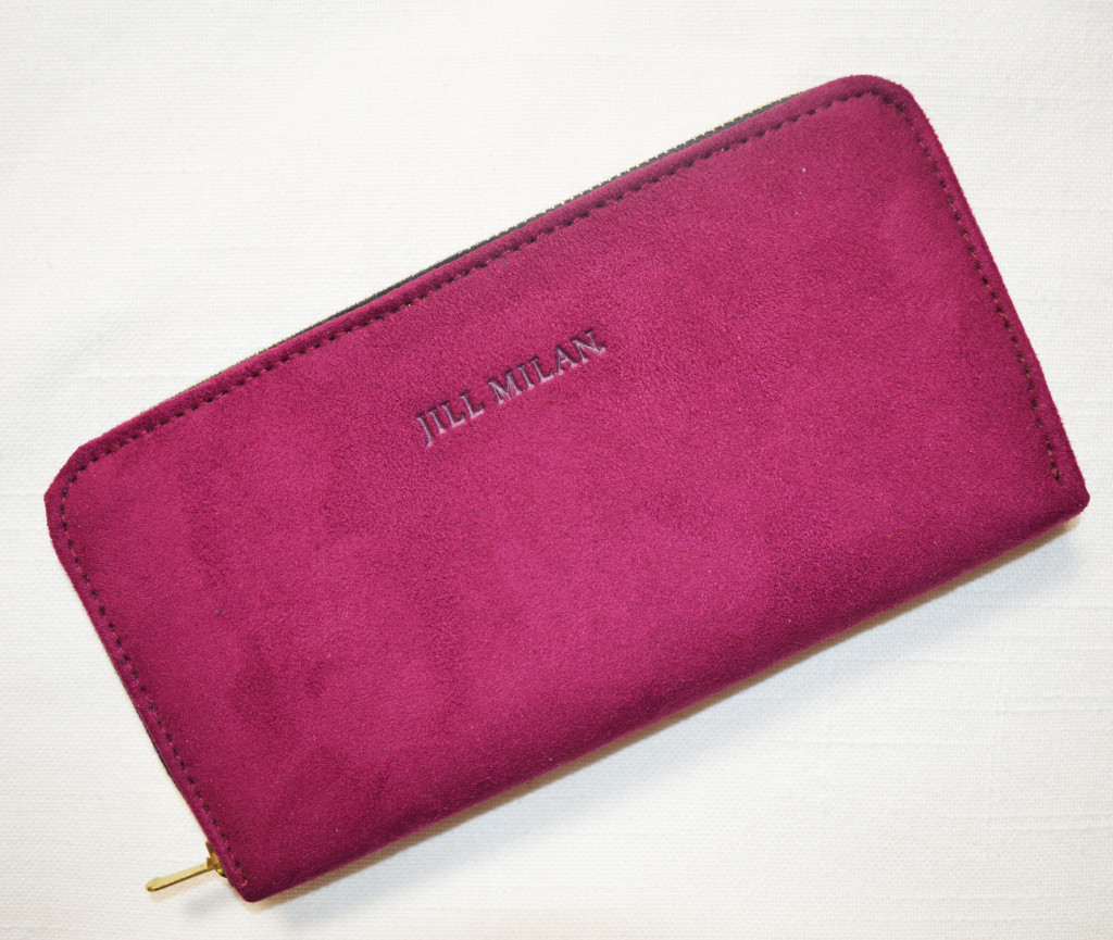 jill milan wallet clutch review