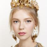 Dolce & Gabbana spring 2016 runway beauty look