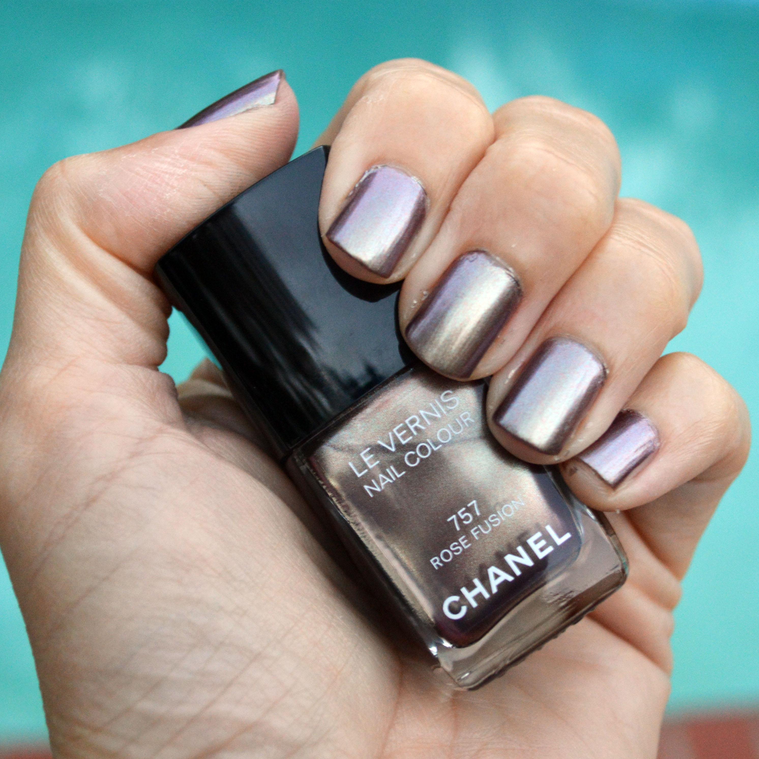 chanel rose fusion nail polish holidays 2015 review bay