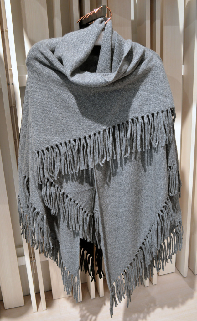 cozy poncho for fall