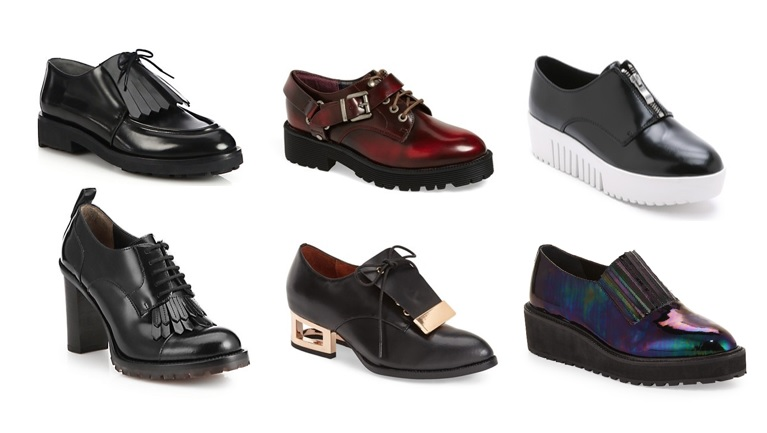 creepers, oxfords and loafers for fall 2015