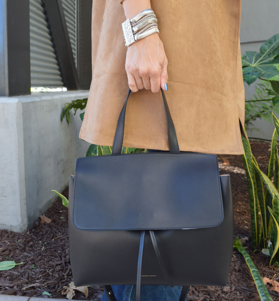 mansur gavriel small lady bag in black