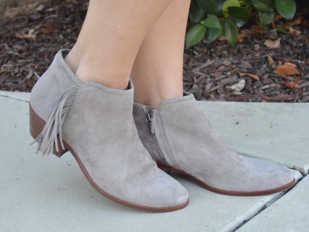 fringe booties for fall