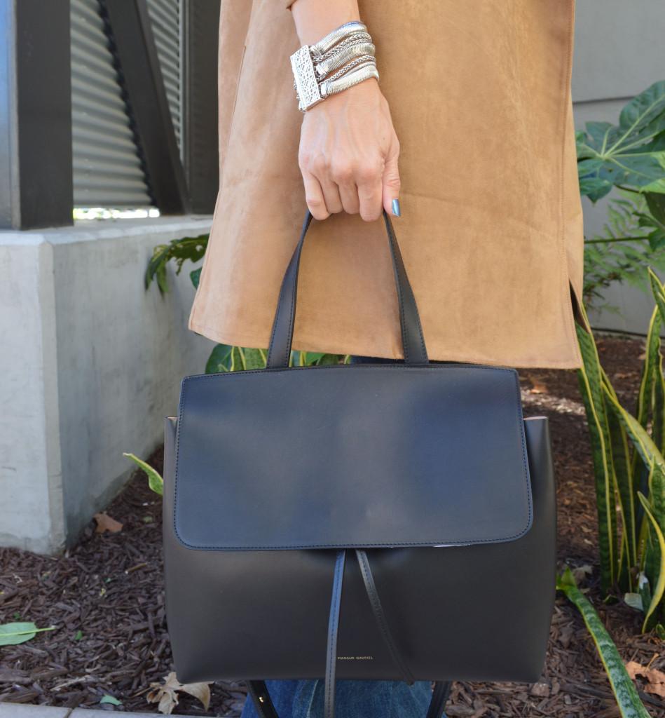 mansur gavriel small lady bag in black
