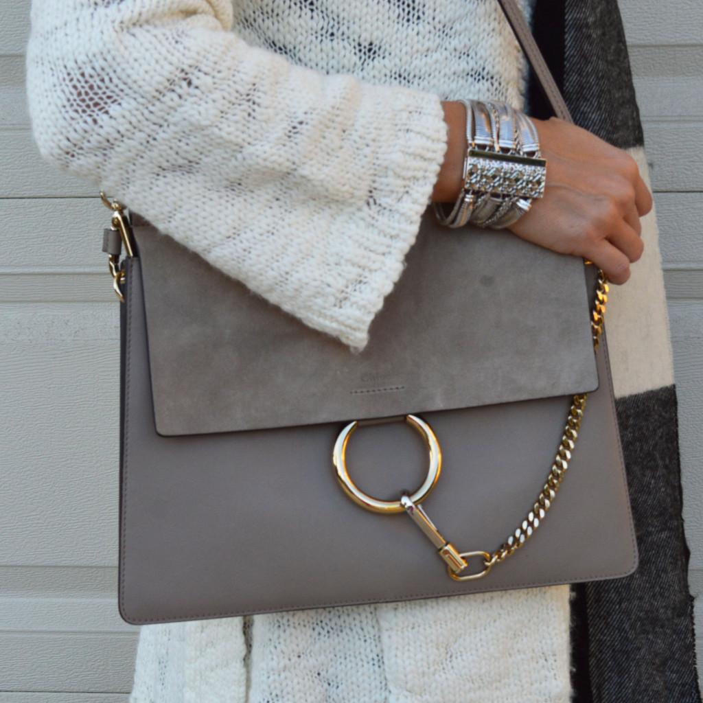 medium chloe faye handbag