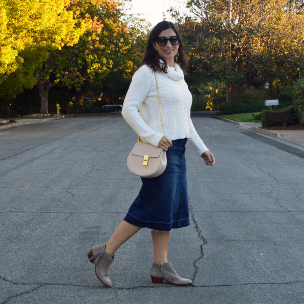 turtleneck sweater for fall outfit idea