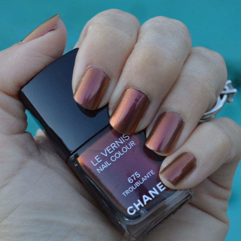 Chanel Troublante nail polish for winter | Bay Area Fashionista