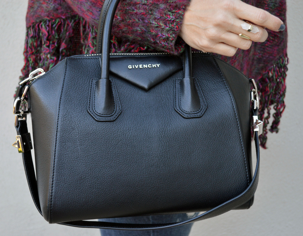 givenchy antigona small sugar black handbag