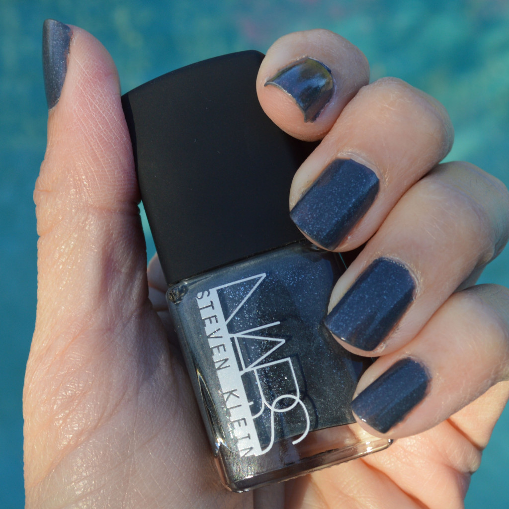 nars black fire nail polish review for winter
