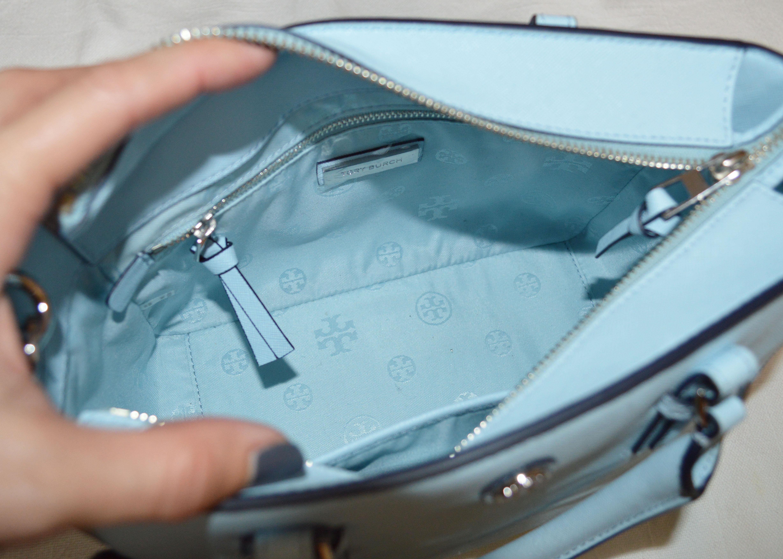c3fec27a3802 tory handbag on sale · tory burch robinson mini iceberg interior ...