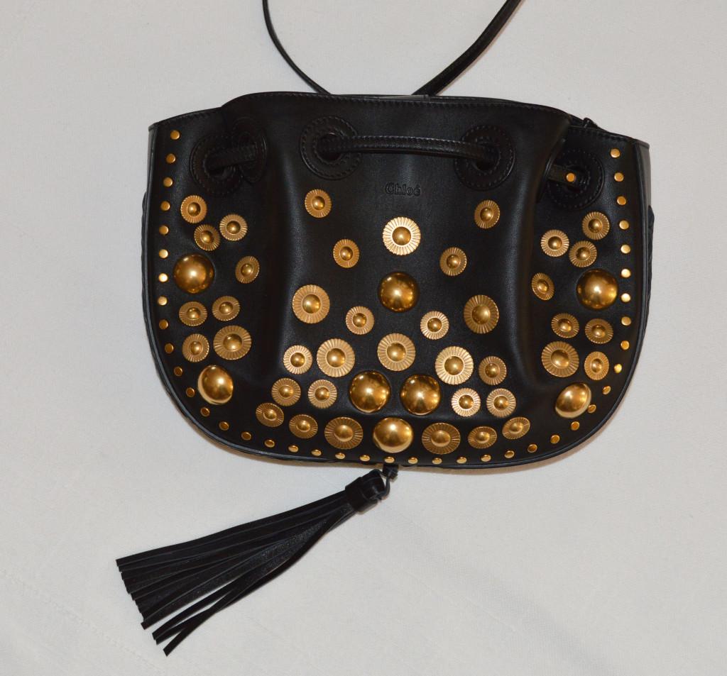 chloe inez handbag in black 1