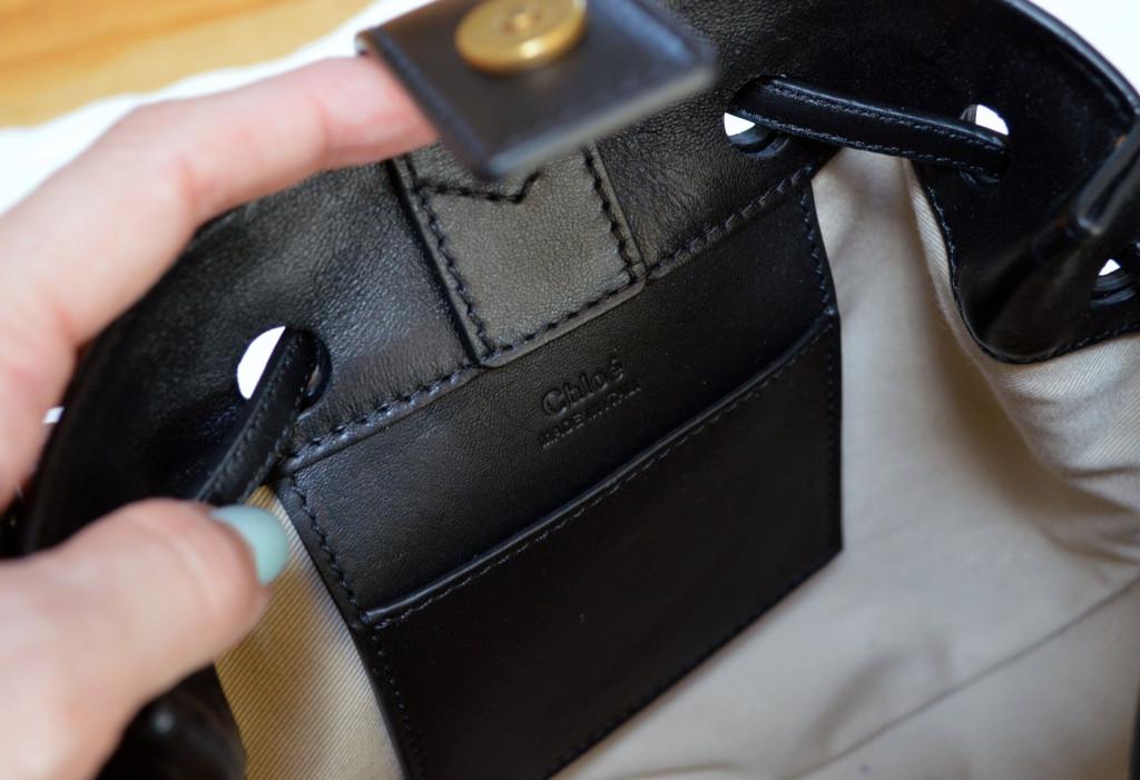 chloe inez interior pocket