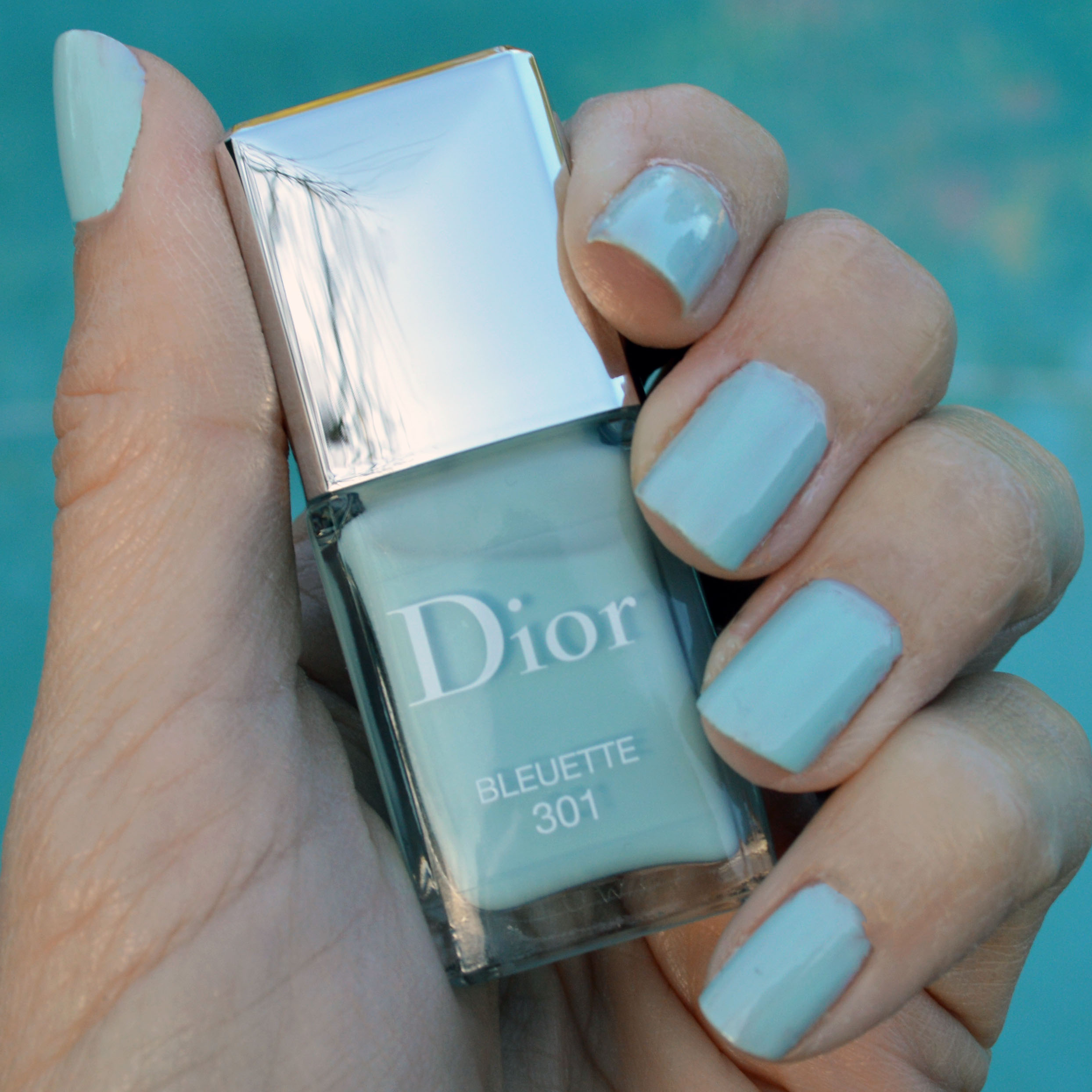 Dior Bleuette nail polish for spring 2016 review – Bay Area Fashionista