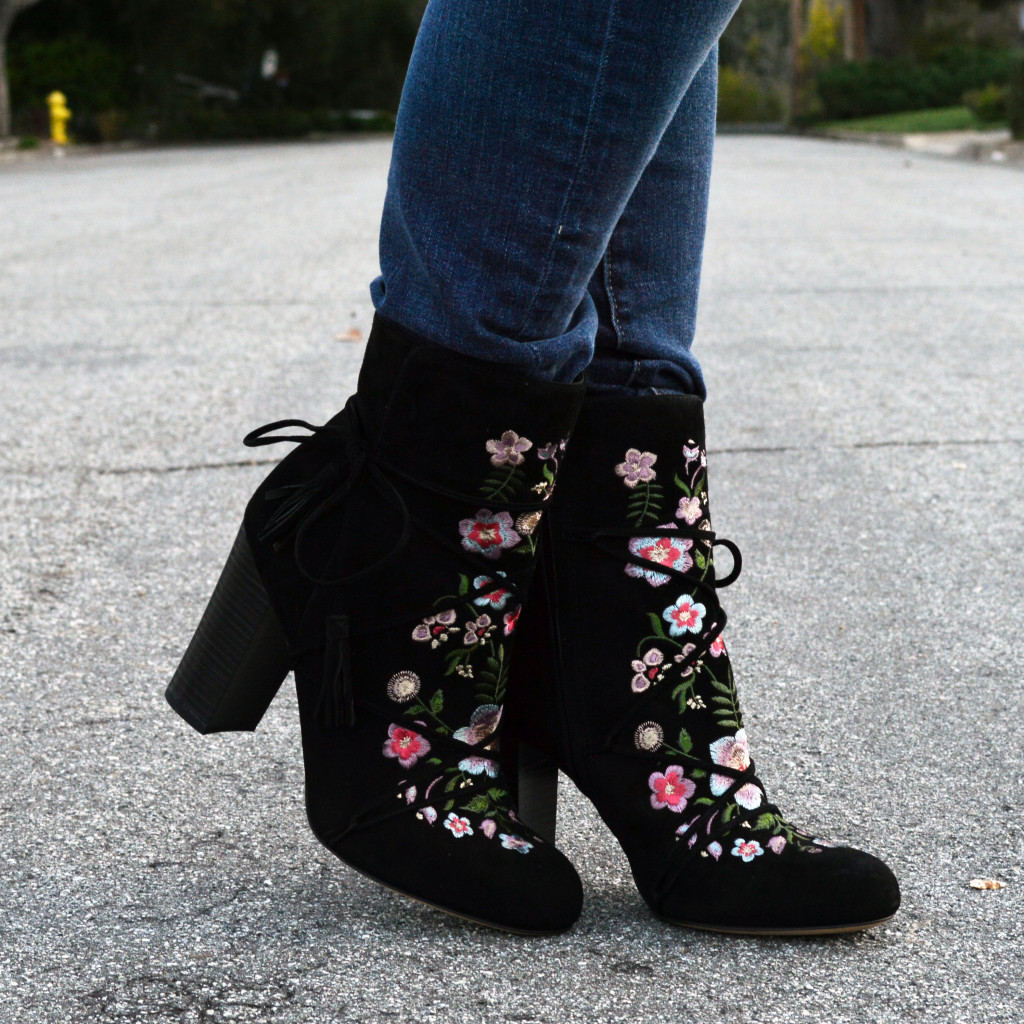 winter into spring booties
