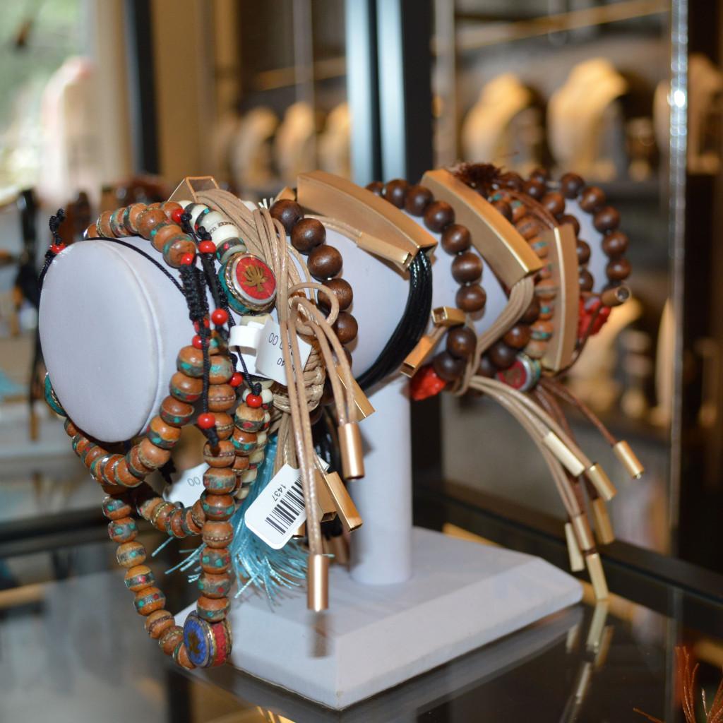 stackable bracelets from flying lizard