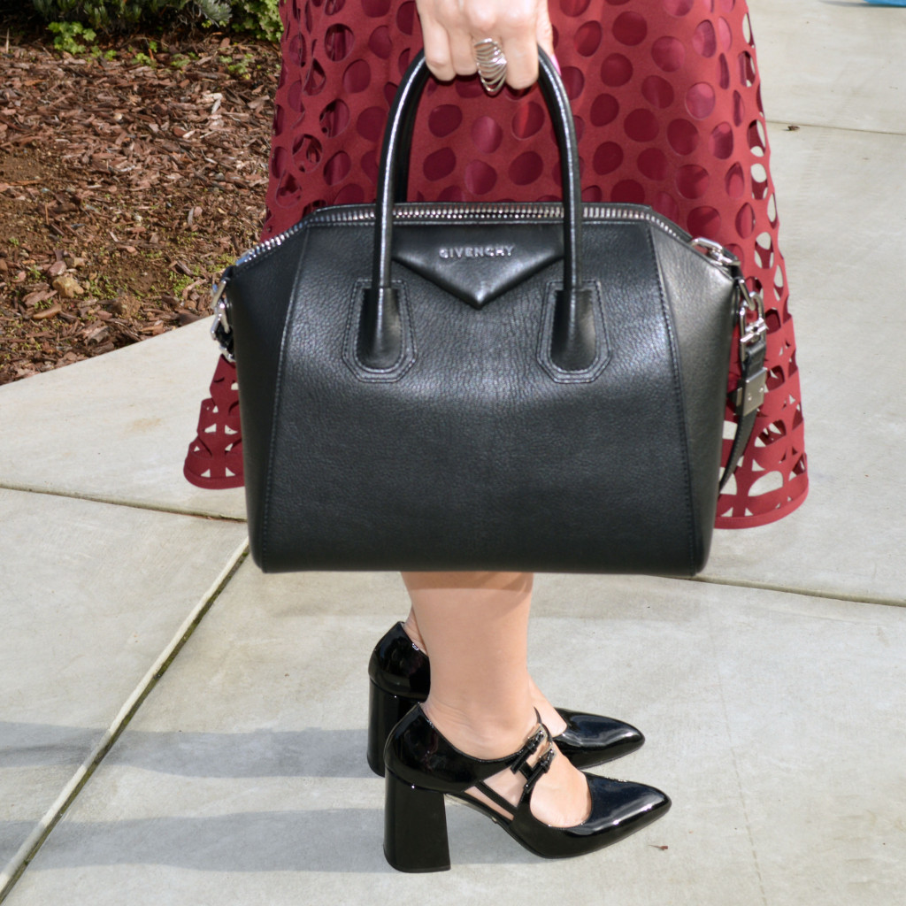 givenchy antigona and prada mary janes