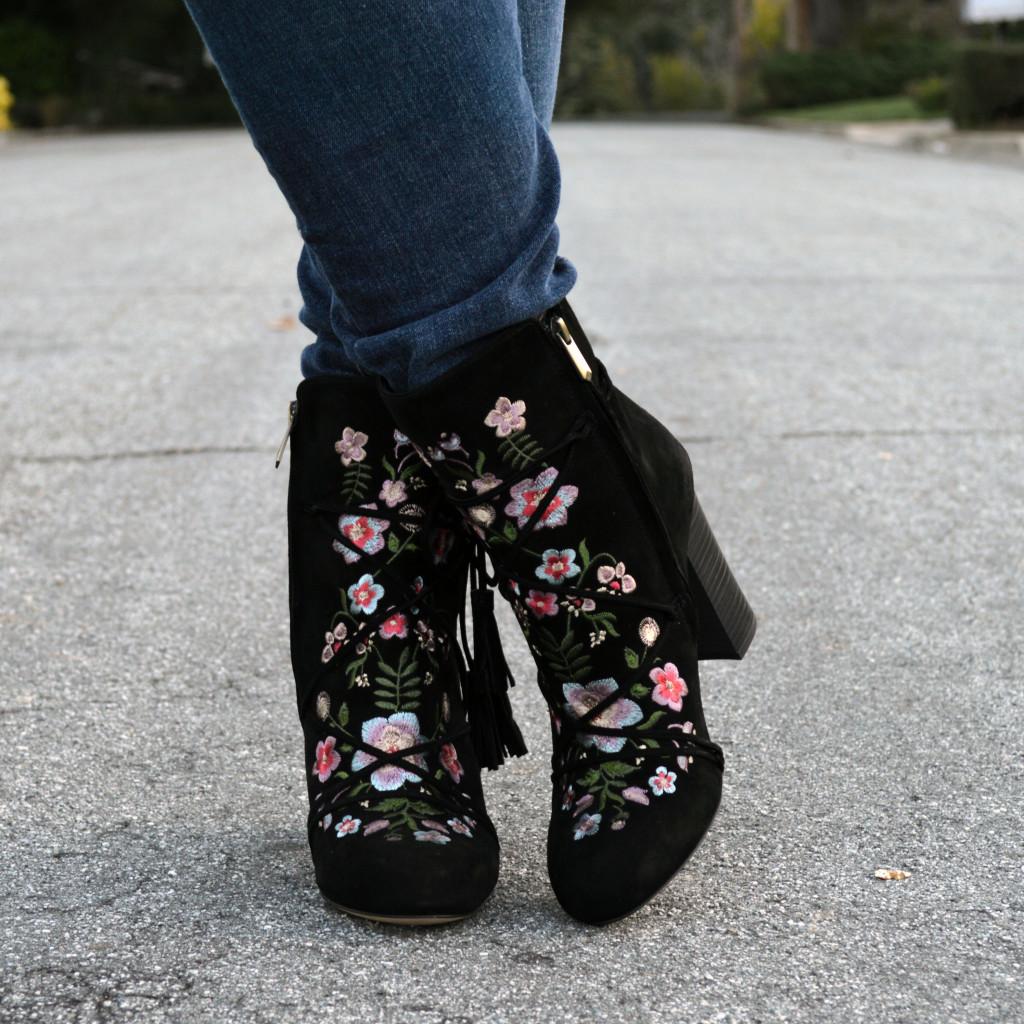 cute spring booties