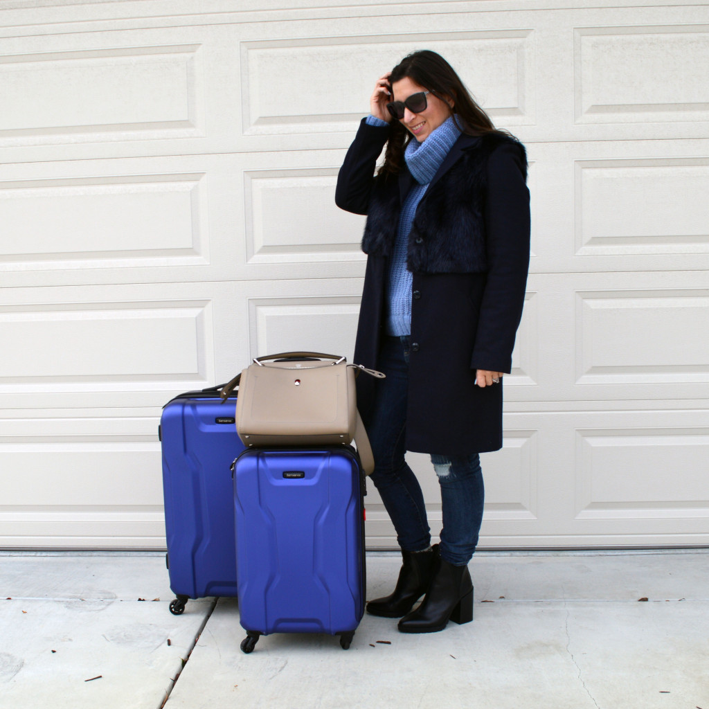 what to wear on an airplane in the winter