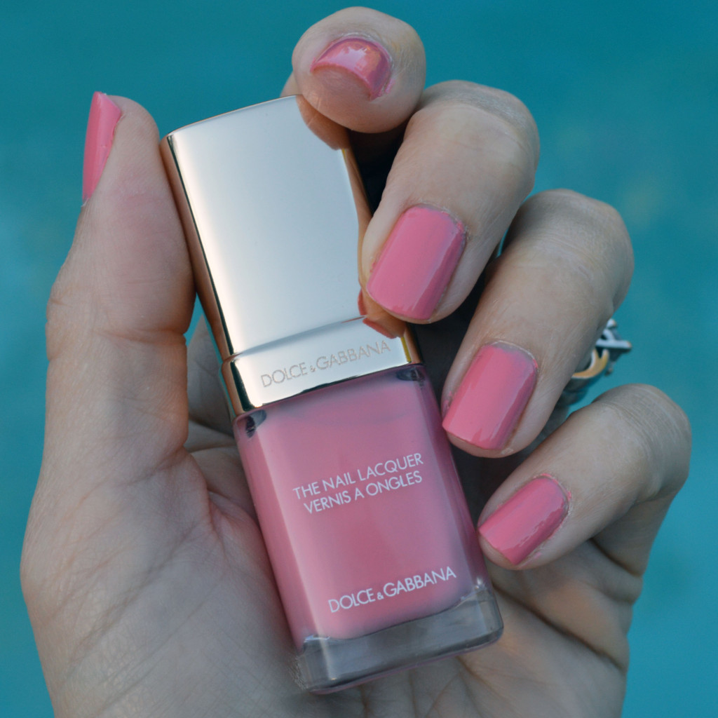 dolce & gabbana bonbon nail polish review and swatch for spring 2016