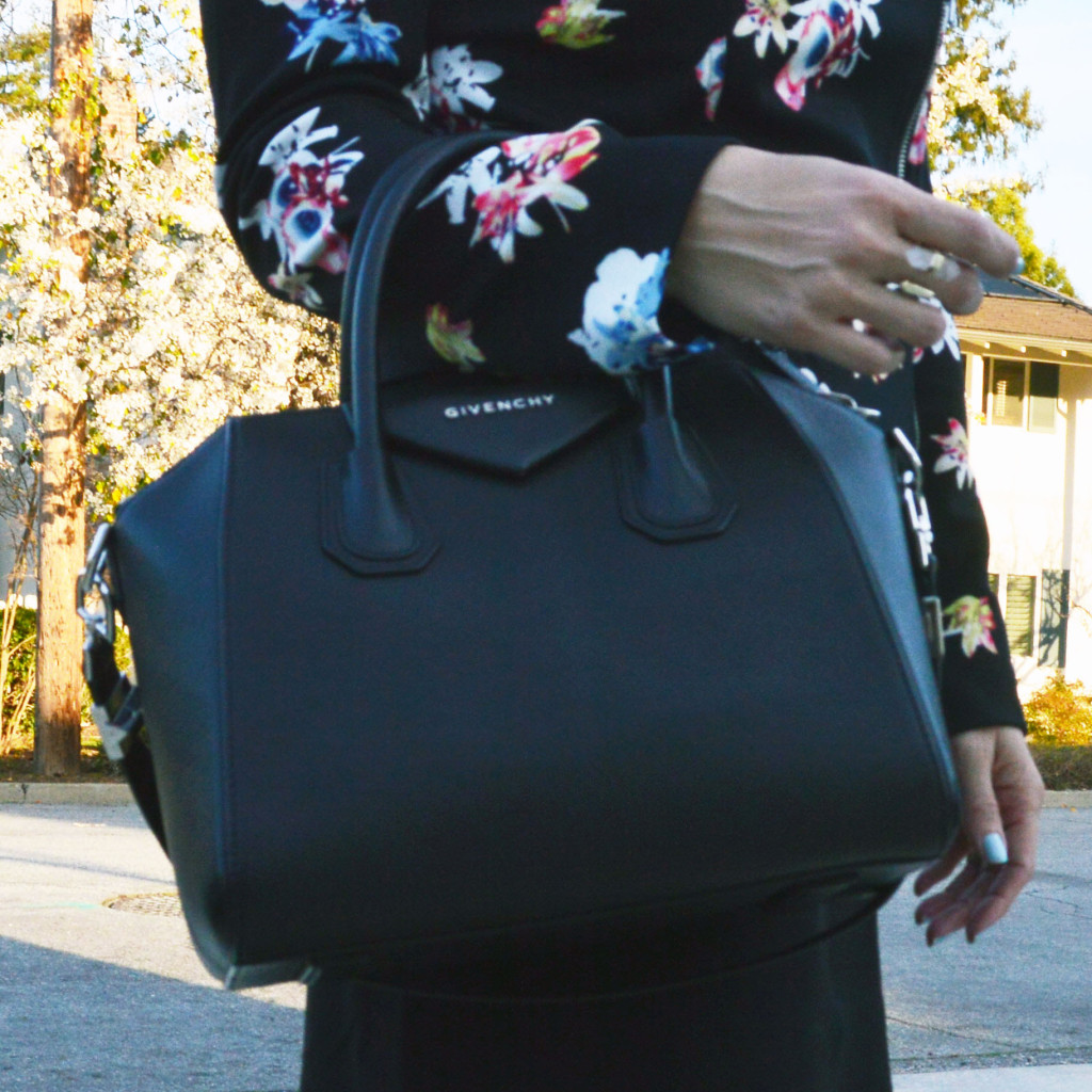 givenchy and floral blazer