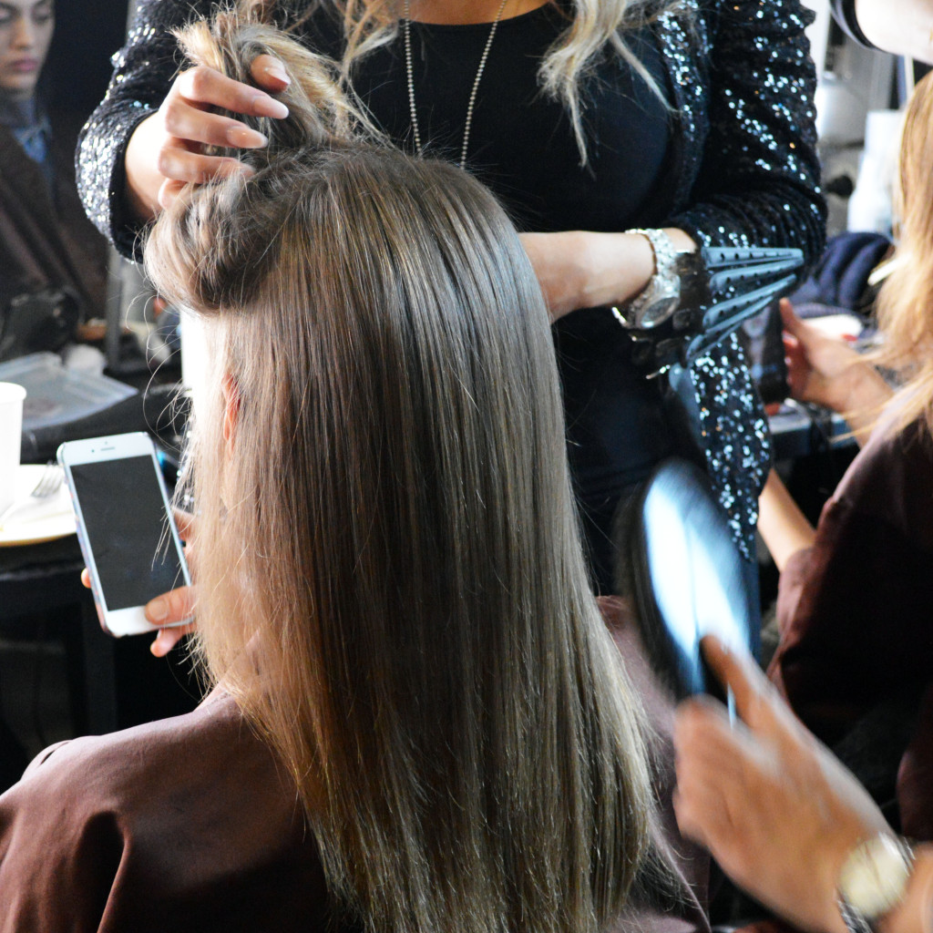 hair by loreal paris at pamella roland nyfw fw16