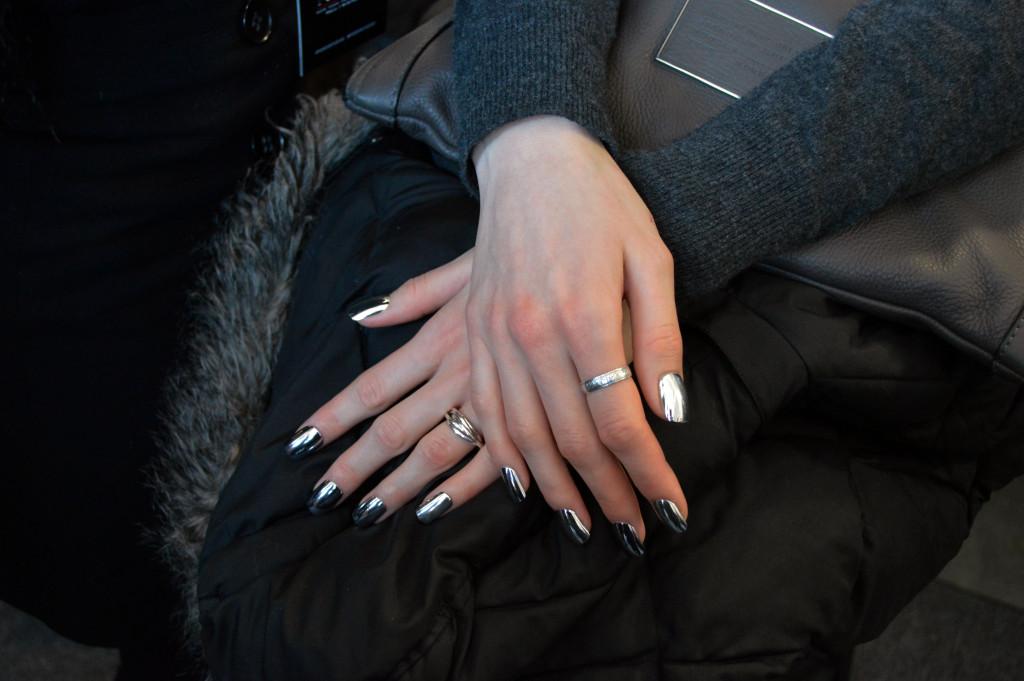 nails at pamella roland fall 2016 nyfw