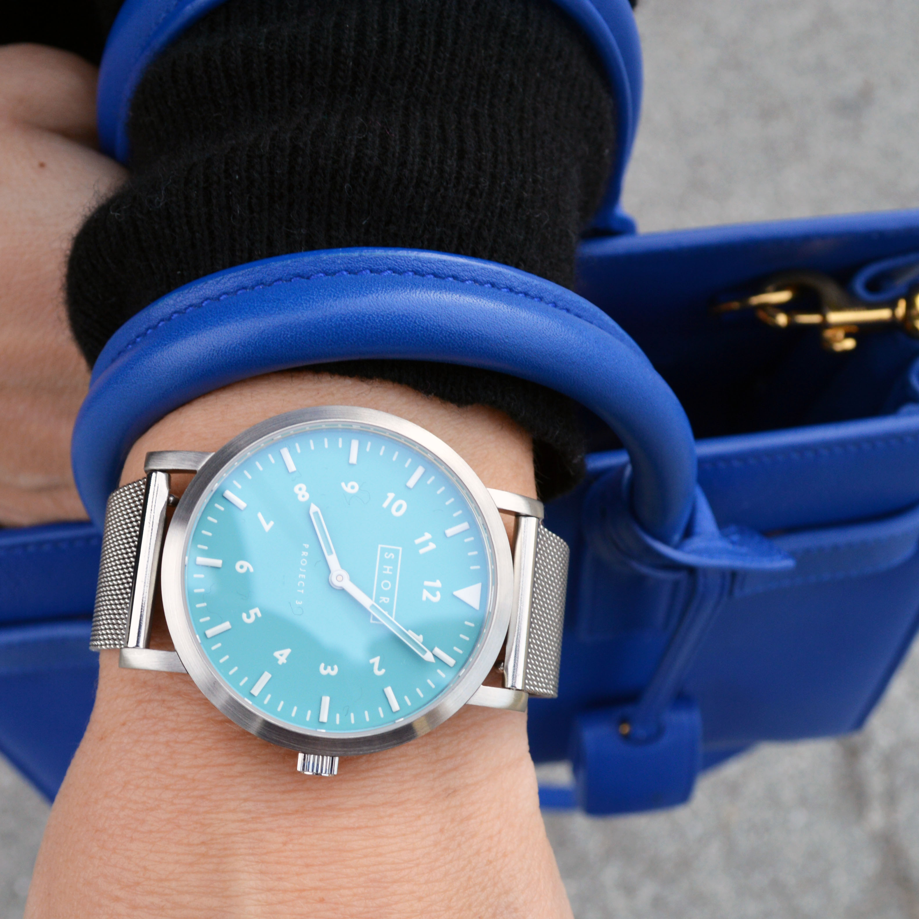 Shore Projects watch and an early spring outfit idea.