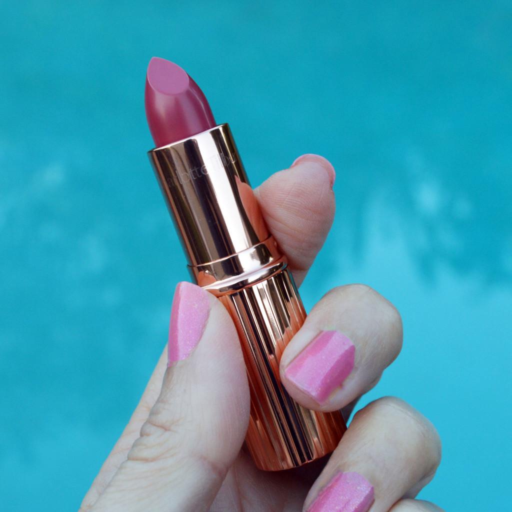 charlotte tilbury kissing kiss chase lipstick review