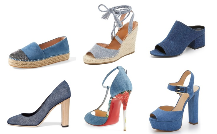 denim shoes for spring 2016