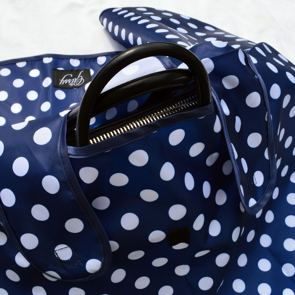 gussy handbag raincoat