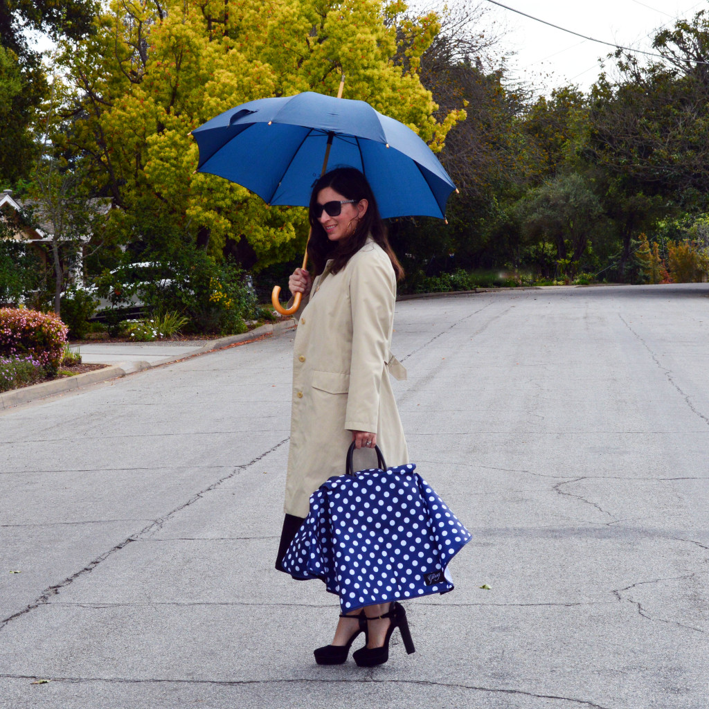 how to keep your handbag dry in the rain