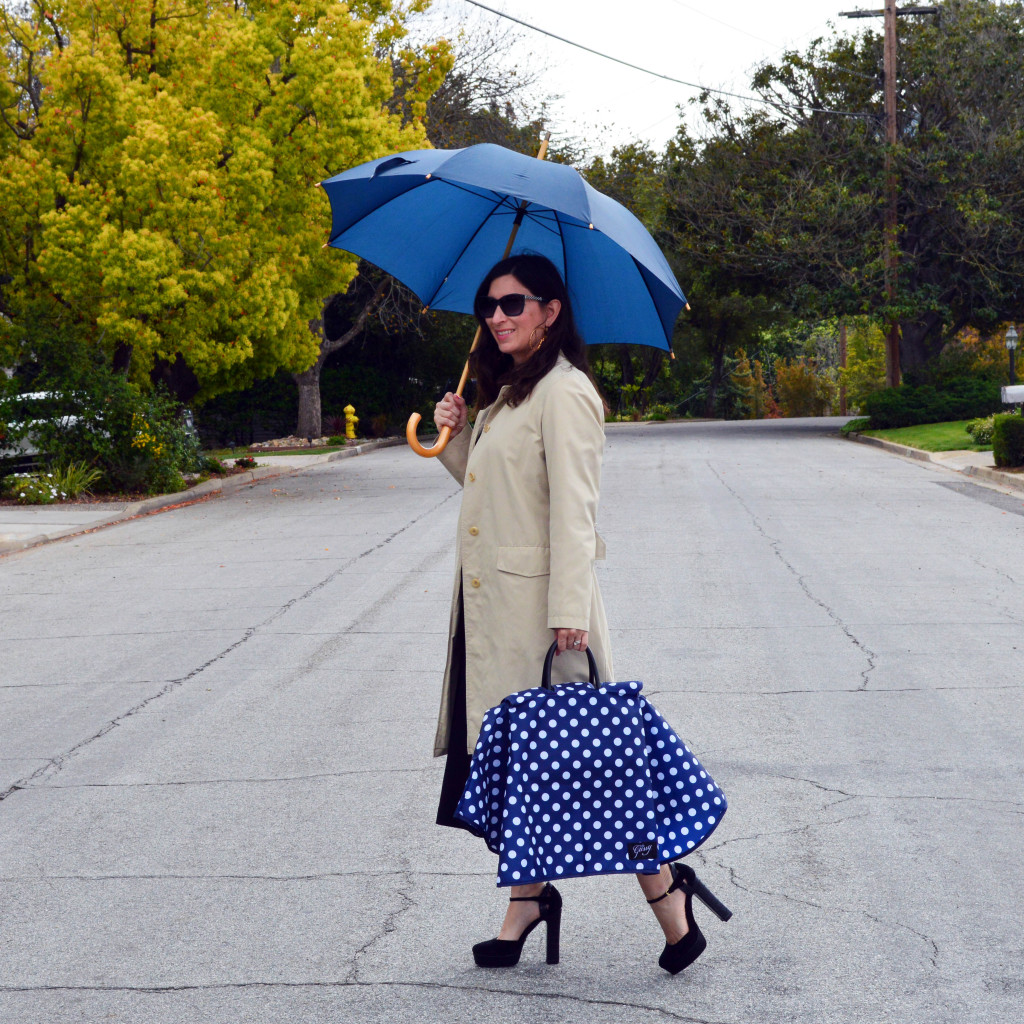 how to keep your purse dry in the rain