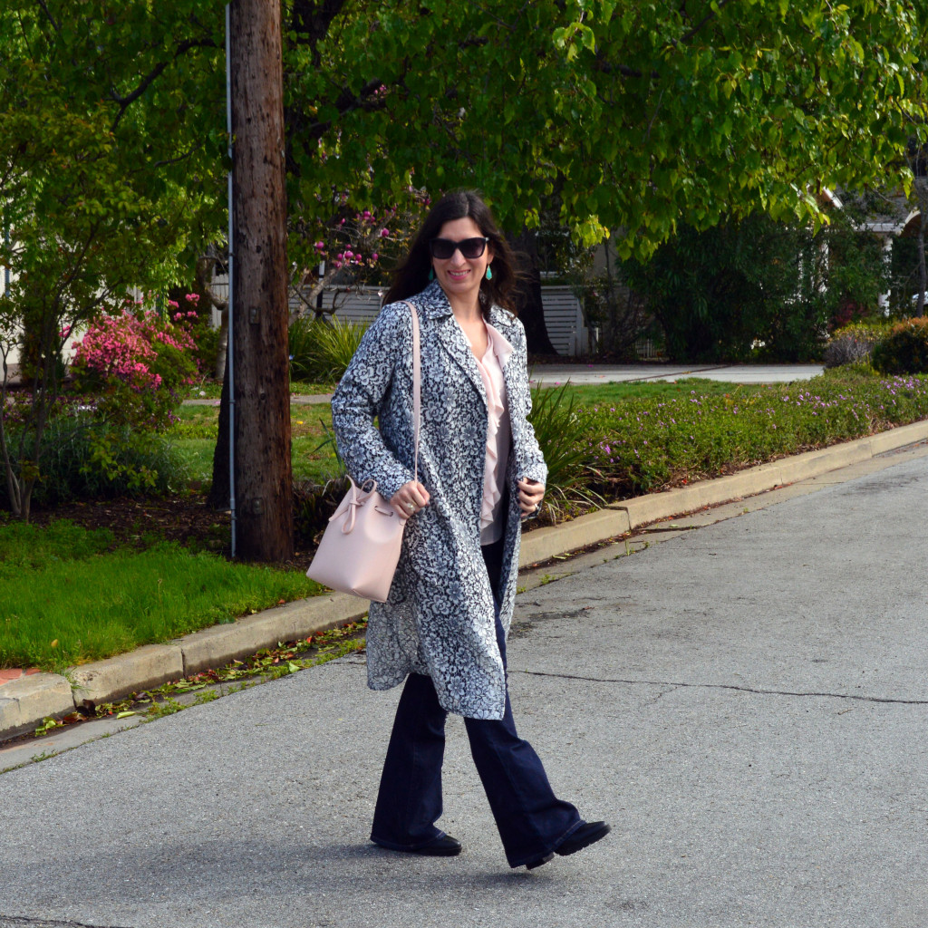 lace trench coat for spring