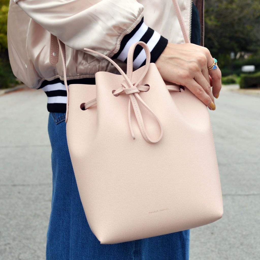 pink mansur gavriel bucket bag 1