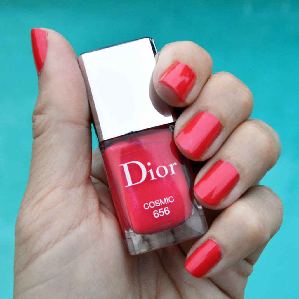 dior cosmic nail polish for summer 2016