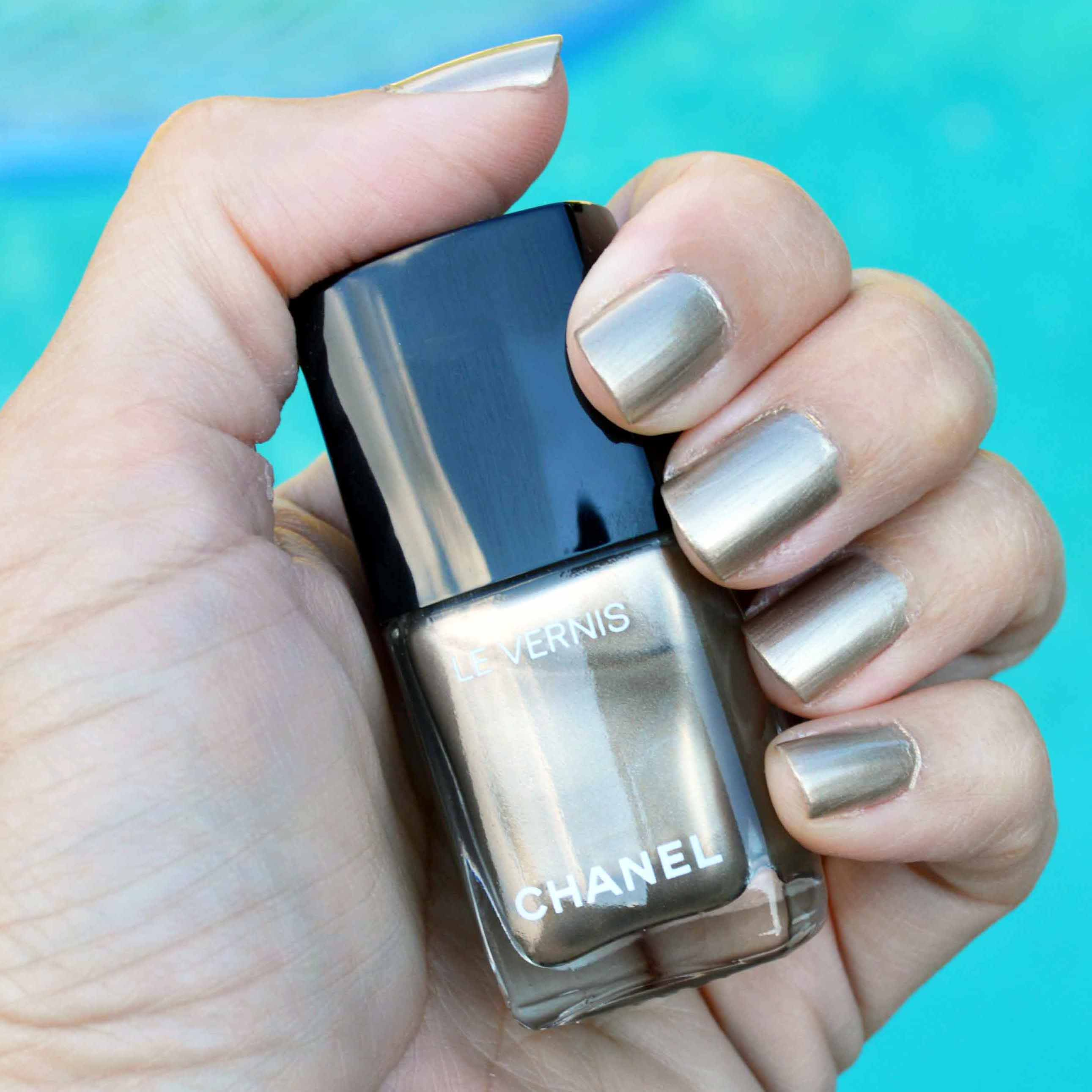 Chanel Canotier nail polish review | Bay Area Fashionista
