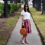 How to style a circle bag for summer