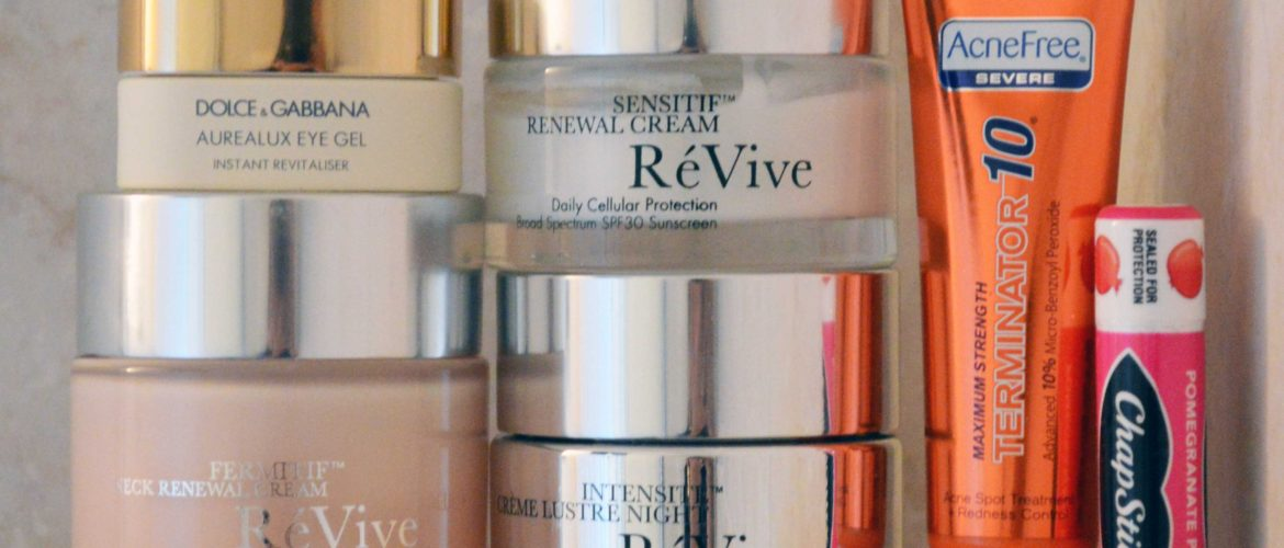 my skin care products feature image