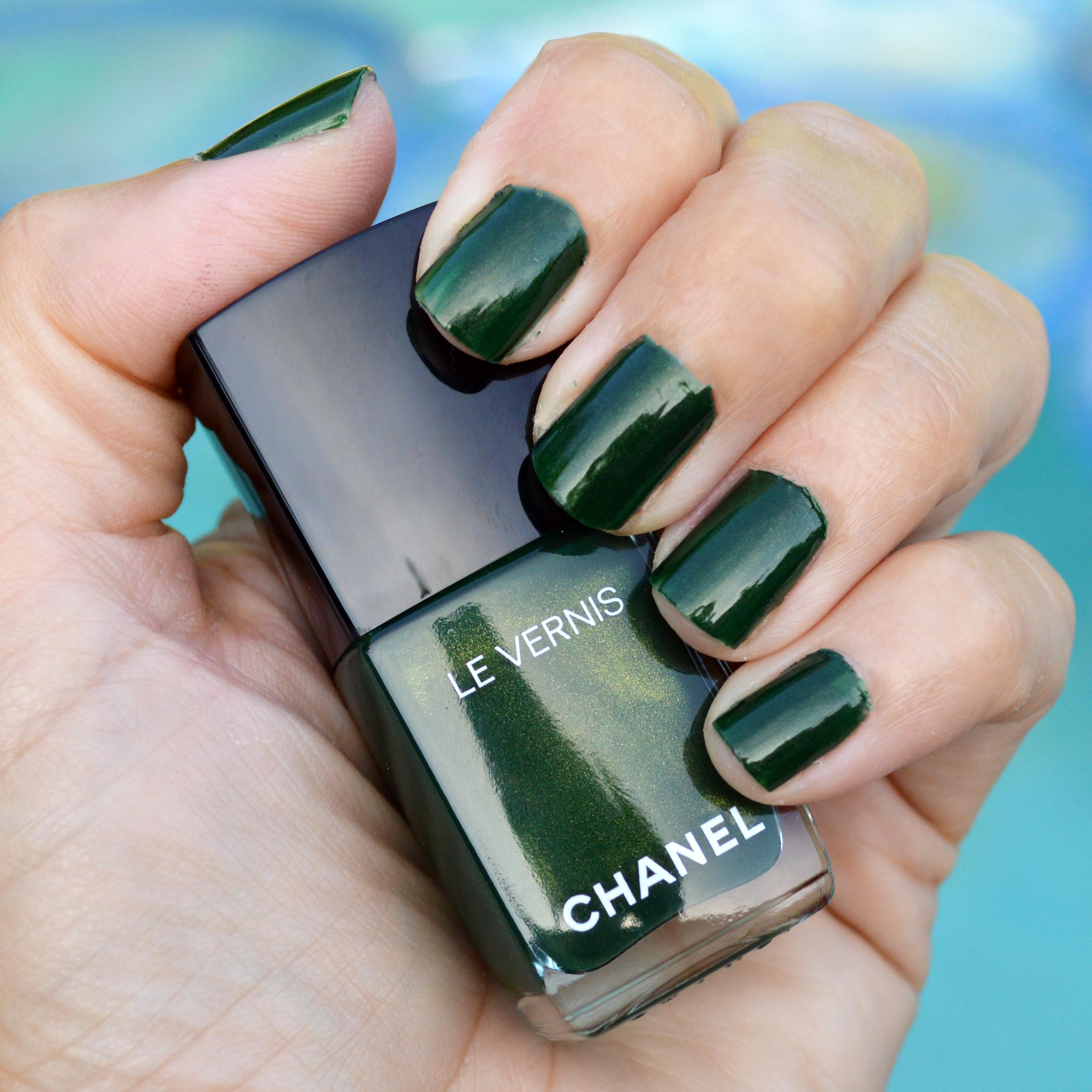 Chanel Emeraude nail polish for summer 2016 review – Bay Area ...
