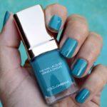 Dolce & Gabbana Turquoise nail polish summer 2016